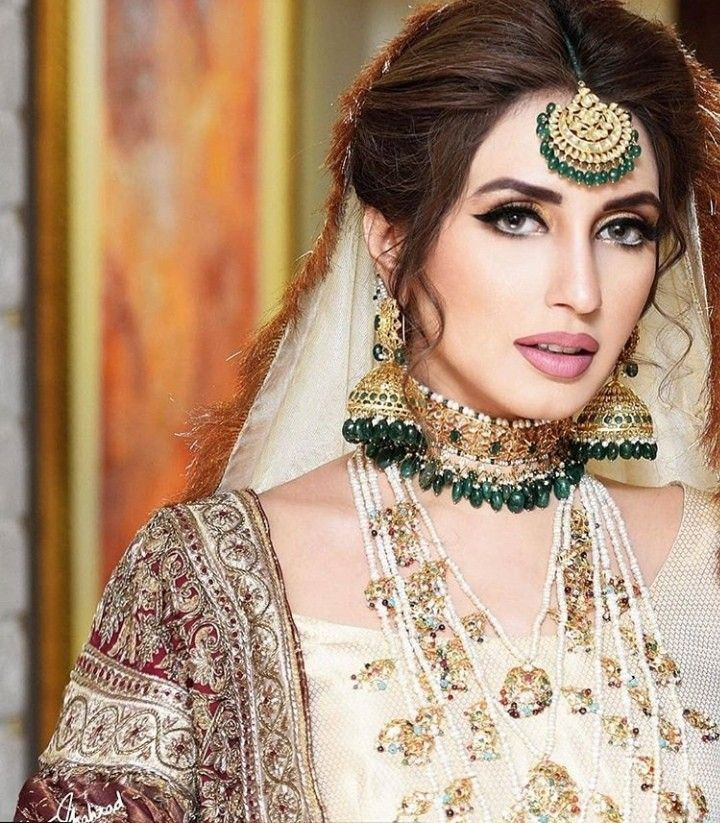 pakistani super model iman ali wedding day bridal makeup ather shehzad classic look