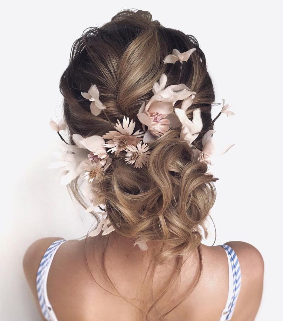 hair style for weddings bride