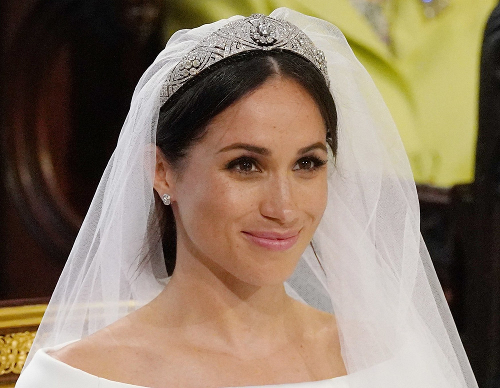 Meghan markle duchess of sussex bridal makeup wedding day
