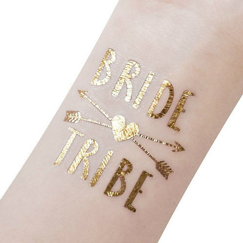 Bride Tribe Tattoo for Hen Party (set of 12)