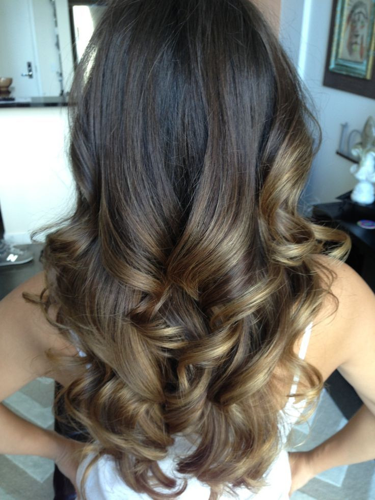 hair down with soft curls hairstyle for weddings and parties