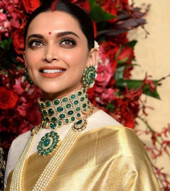 deepika padukone wedding bridal makeup indian bollywood