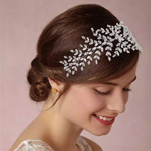 Lydia Crystal Vine Bridal Hair Accessory