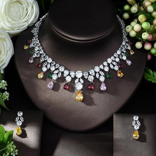 Nadine Bridal CZ Jewellery Set