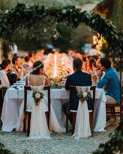 Home garden wedding small intimate wedding table decor ideas