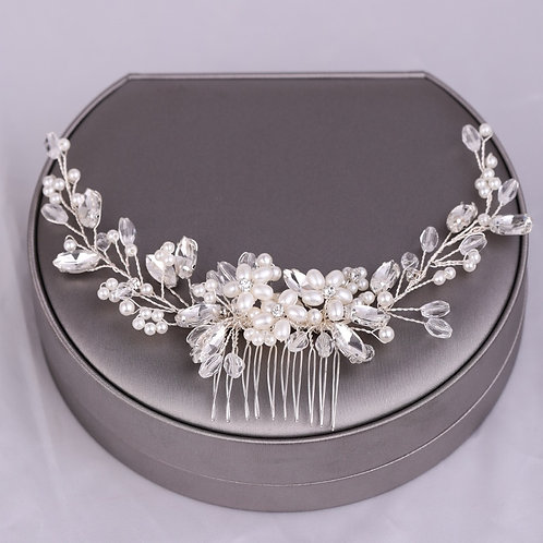 Avery Crystal Bridal Hair Comb