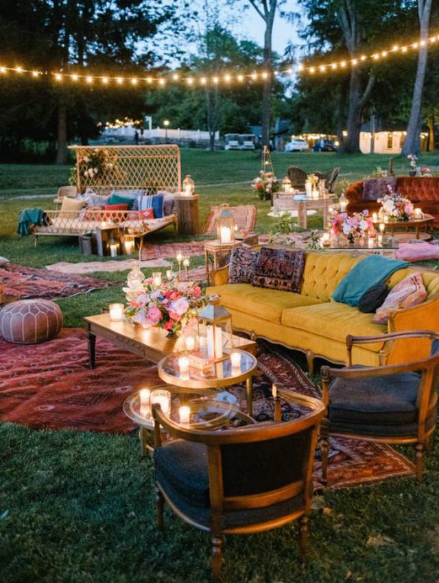Small Wedding Ideas Small Wedding at home back garden