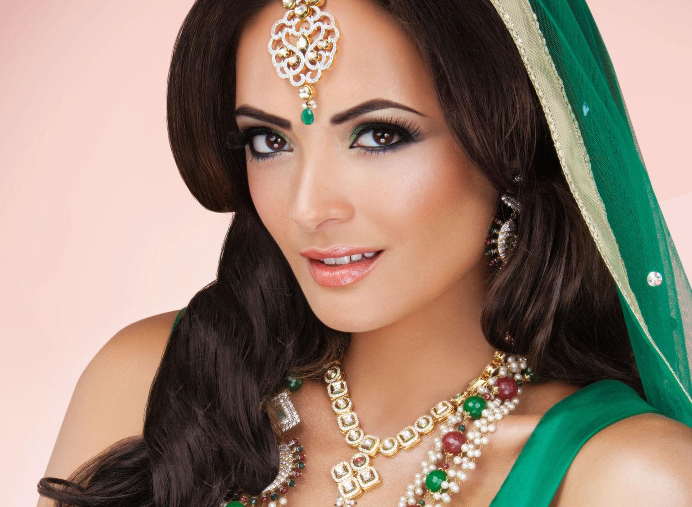 indian bridal hair and makeup west london - short hair fashions