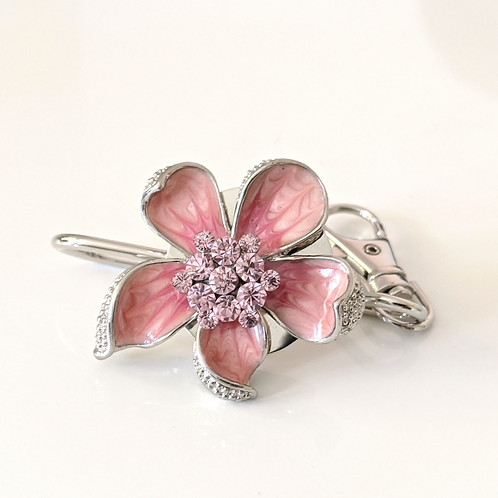 Pink Flower Key Finder