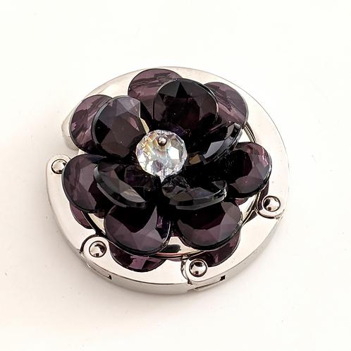 3D Black Flower
