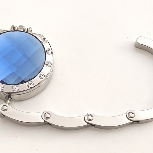Royal Blue Crystal with Compact Mirror