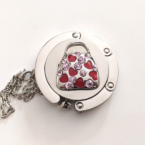 Red Hearts Purse