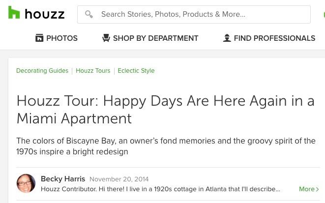 Houzz Tour - Happy Days