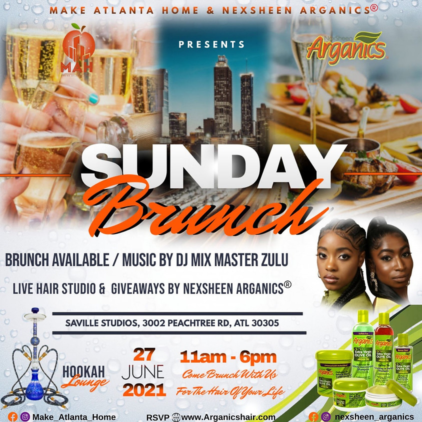 Sunday Brunch with NexSheen Arganics and Make Atlanta Home