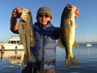 Winter fishing は面白いですよ