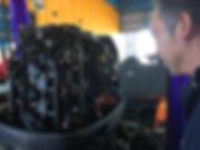 バスボートジャパンボート修理