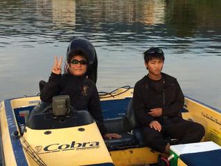 今朝の琵琶湖は穏やかです☆