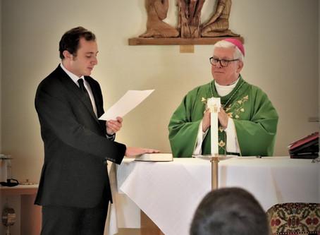 Seminarian Alex Pince's upcoming Diaconate Ordination