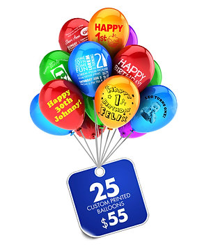 25 Balloons Special