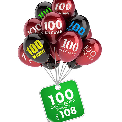100 Balloons Special