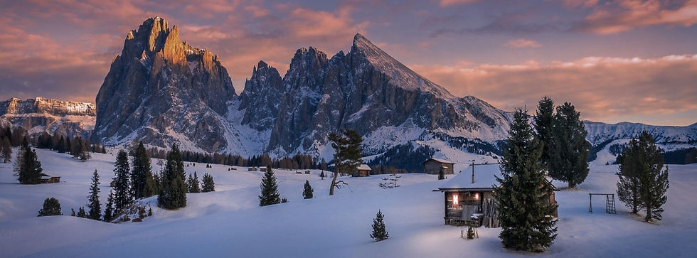 snow_cabin_mountains_Dolomites_mountains