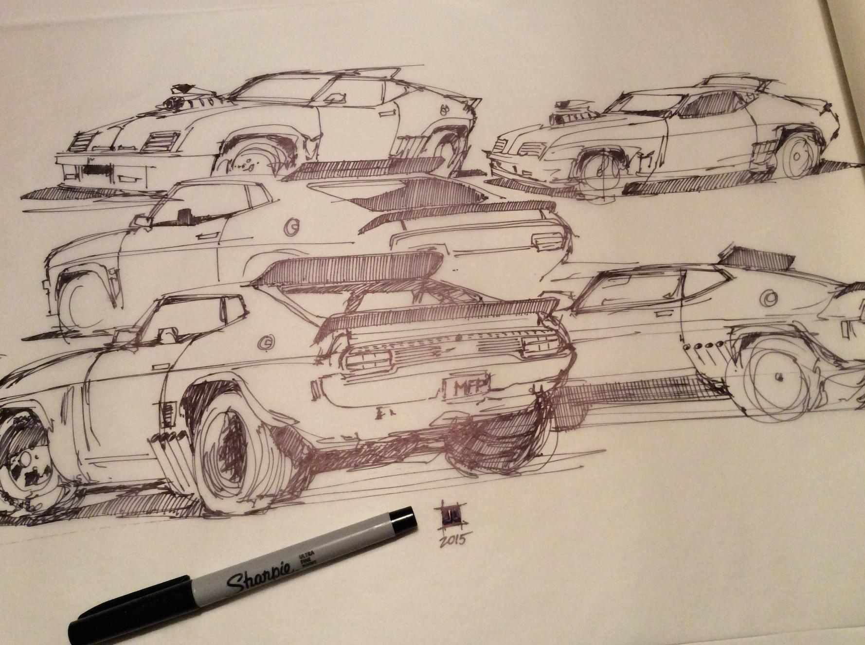 Mad Max Sketching