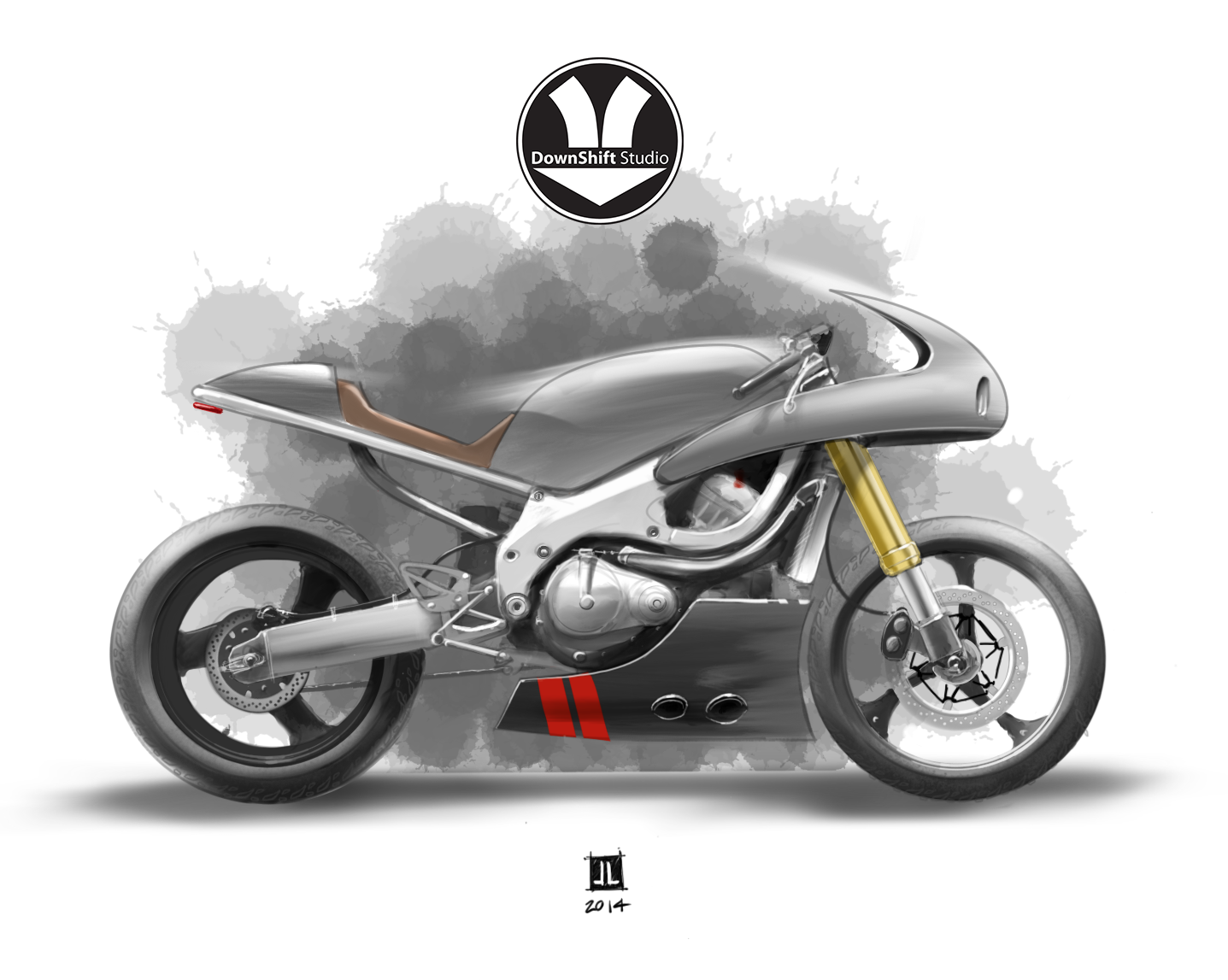 Travis Holland - CBR600 Concept Sketch