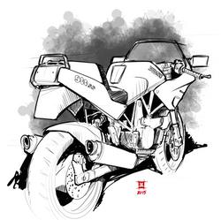 '92 Ducati 900ss