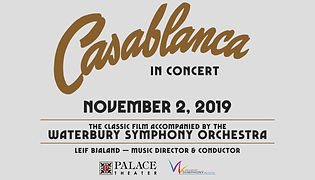 Casablanca with live orchestra