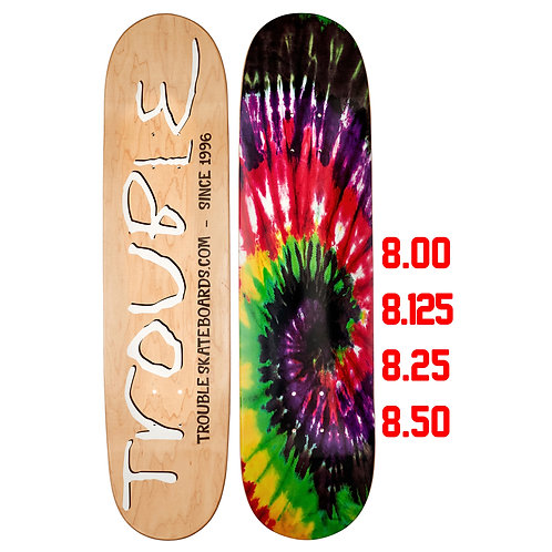 Tabla Trouble, Tie Tye Black, Inc. Lija