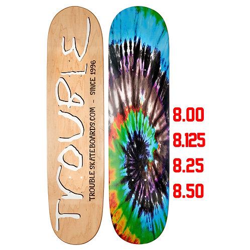 Tabla Trouble, Tie Dye Blue, Inc. Lija