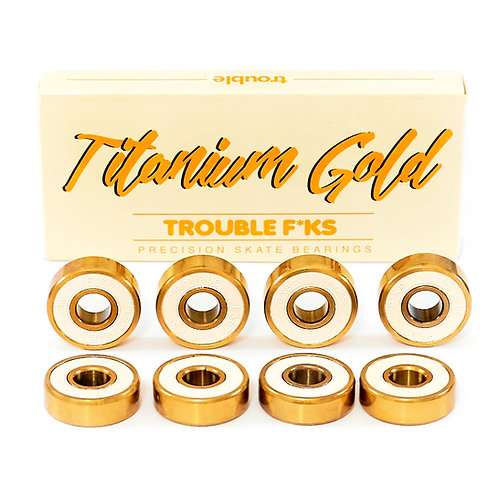 Rodajes Trouble, Titanio Gold