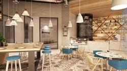 Hamper Cafe - Bar View