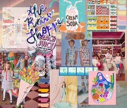 Retro Shoppe: Storyboard