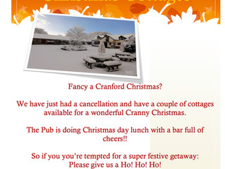 Fancy a Cranny Christmas??