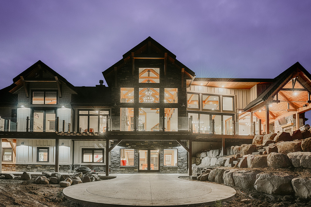 Timber Frame luxury house