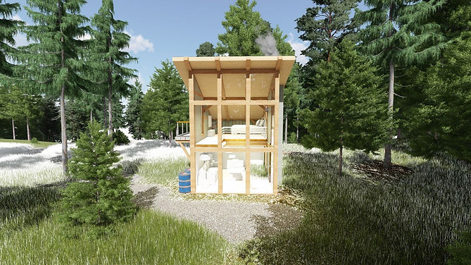 ModernOpen Concept Back Country cabin