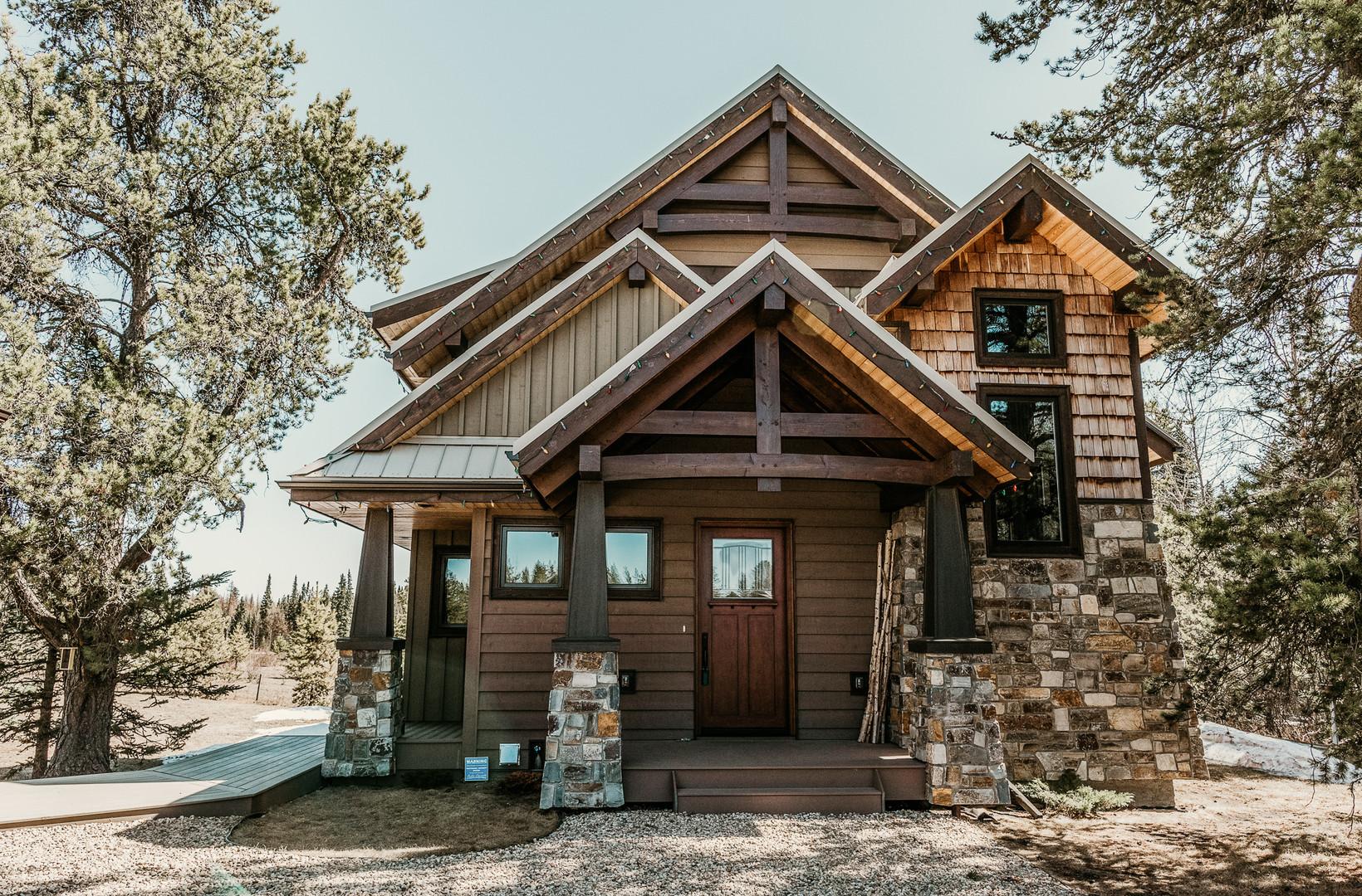 Timber Frame Cottage Home