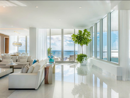 Duplex Penthouse On Top of a Tower in Sunny Isles Beach, Florida
