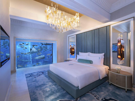 This Hotel Suite Lets You Sleep Underwater!