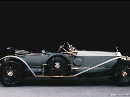 The Legends of the Ghosts, A look into the Rolls Royce Silver Ghost & the 2021 Ghost