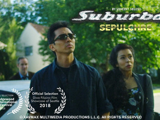 """Suburban Sepulchre"" written, directed, produced by & starring Vincent Veloso has been"