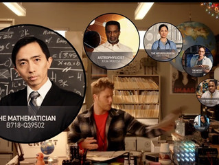 """Vincent Spotted in """"Limitless"""" Ep14 as Mathematician Peter Tao"""