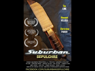 """Suburban Sepulchre"" written, directed, & starring Vincent Veloso is named an official"