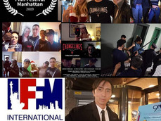 The 2019 International Film Festival Manhattan awards Vincent Veloso Independent Producing Achieveme