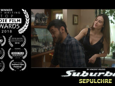 """""""Suburban Sepulchre"""" by Vincent Veloso wins Best Writing award, & receives nominations"""