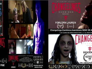 "Changelings ""Forlorn Lauren"", ""Aswang"", and ""Episode 3: Descension"" na"