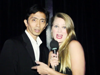 Vincent Veloso interviewed by fashion icon Hillary Flowers on MotavisionHD