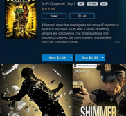 SHIMMER on Amazon Prime and on DVD in Walmart!