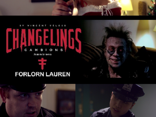Changelings Aswang & Forlorn Lauren official selections of the 2018 Vault of Horror Film Festiva